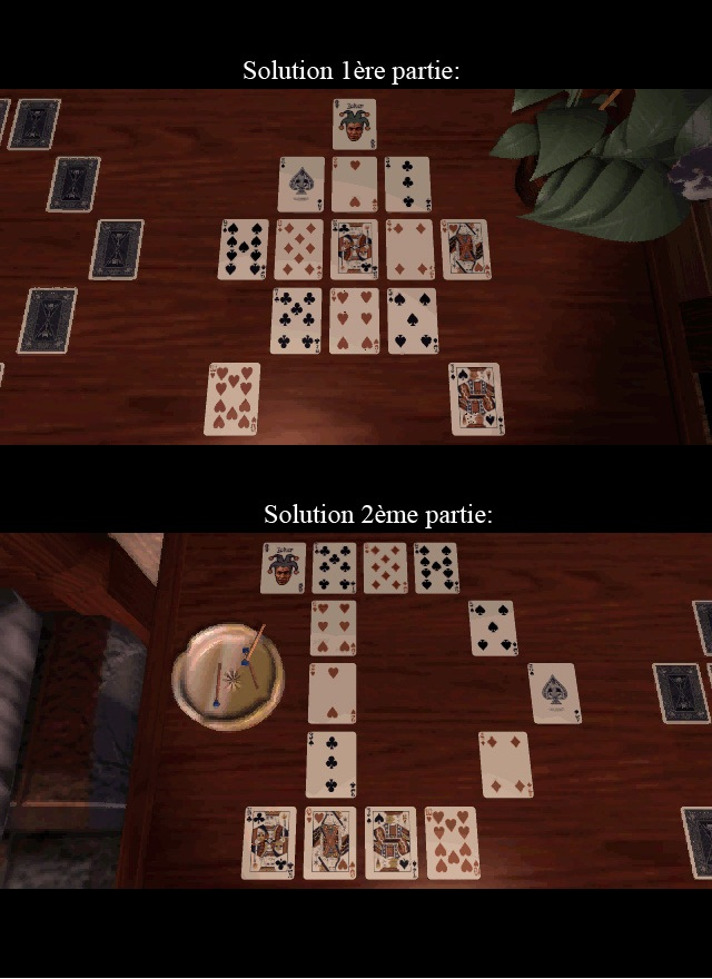 solution jeux de cartes the 7th guest
