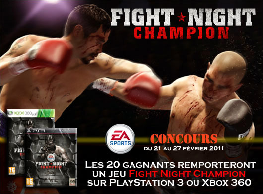 photo d'illustration pour l'article:Concours Fight Night Champion