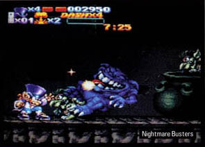 photo d'illustration pour l'article:Sortie de Nightmare Busters sur SNES courant 2011