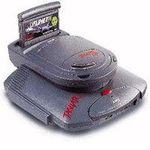 une photo de machine de jeu: Atari Jaguar