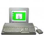 une photo de machine de jeu: Atari ST