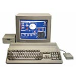 une photo de machine de jeu: Commodore Amiga