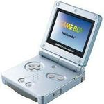 une photo de machine de jeu: Nintendo Game Boy Advance