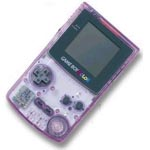 une photo de machine de jeu: Nintendo Game Boy Color