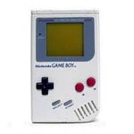 une photo de machine de jeu: Nintendo Game Boy