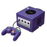 une photo de machine de jeu: Nintendo Gamecube