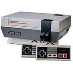 une photo de machine de jeu: Nintendo Nes