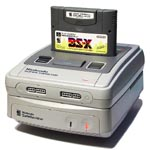 une photo de machine de jeu: Nintendo SNES Satellaview