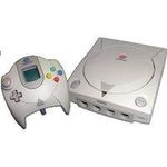 une photo de machine de jeu: Sega Dreamcast