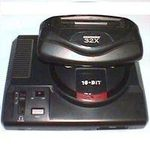 une photo de machine de jeu: Sega Megadrive 32X