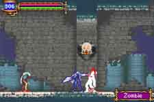 image du jeu video castlevania aria of sorrow sur nintendo game boy advance