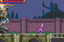 image du jeu video castlevania harmony of dissonance sur nintendo game boy advance