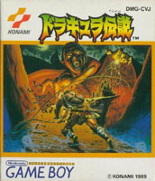 image du jeu video castlevania the adventure sur nintendo game boy