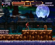 image du jeu video castlevania the adventure rebirth sur nintendo wii wiiware