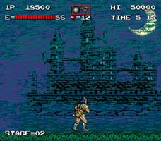 image du jeu video akumajou dracula castlevania haunted castle sur arcade