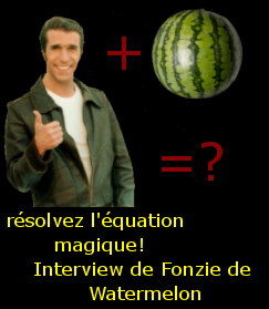 image d'illustration du dossier: Interview Fonzie Watermelon,