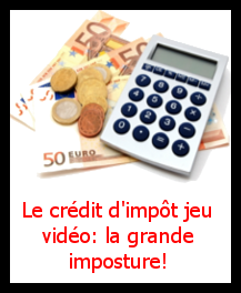 image d'illustration du dossier: Le Credit d Impot Jeu Video, La Grande Imposture