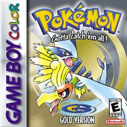 boite du jeu pokemon or silver sur nintendo game boy color
