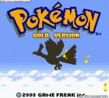 une image de pokemon or argent sur nintendo game boy color