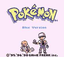 une image de pokemon rouge bleu sur nintendo game boy