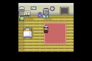 une image de pokemon rubis saphir argent sur nintendo game boy advance