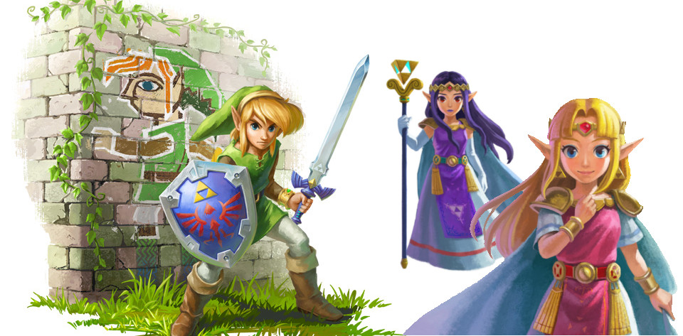 image d'illustration du dossier: The Legend of Zelda - A Link Between Worlds,