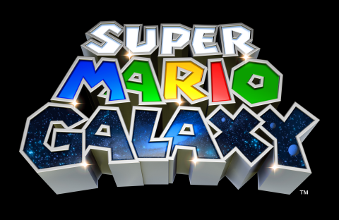 image du logo de Super Mario Galaxy sur Nintendo WII