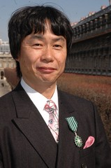 photo de Shigeru Miyamoto chevalier des arts et des lettres