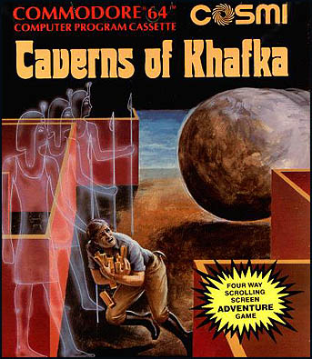 caverns of khafka commodore 64