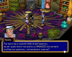une photo d'écran de Grandia 2-Cançao Do Polvo
