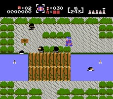 photo d'écran de Nazo No Murasamejo sur Nintendo Famicom Disk System