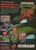 Teenage Mutant Hero Turtles - Tournament Fighters (Megadrive)