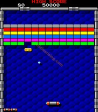 Arkanoid, capture décran