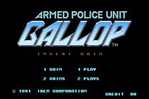 Photo de la boite de Gallop - Armed Police Unit