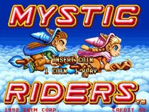 Photo de la boite de Mystic Riders
