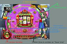 Pachinko Sexy Reaction, capture d'écran