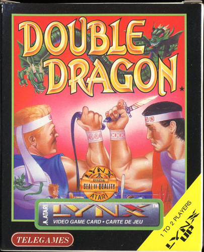 Photo de la boite de Double Dragon
