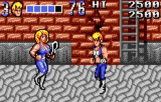 Double Dragon sur Atari Lynx