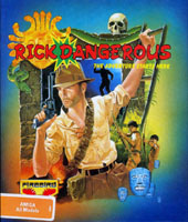 Photo de la boite de Rick Dangerous