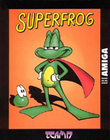 Photo de la boite de SuperFrog