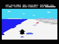 Antarctic Adventure sur MSX