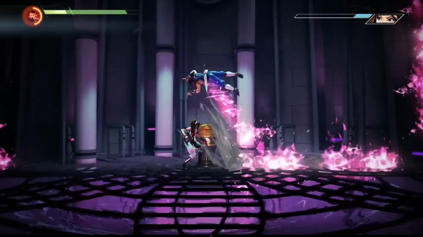une photo d'écran de Strider sur Microsoft X-Box One