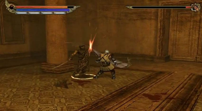 une photo d'écran de Knights of the Temple - Infernal Crusade sur Microsoft X-Box