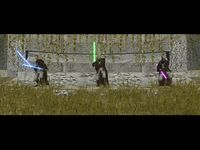Star Wars - Knights of the Old Republic 2 - The Sith Lords, capture d'écran