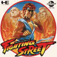 Photo de la boite de Street Fighter (Fighting Street)