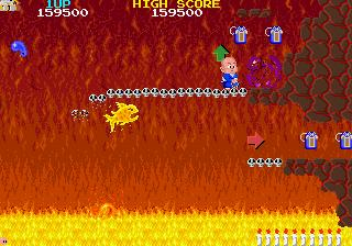 Bonze Adventure sur Nec PC Engine