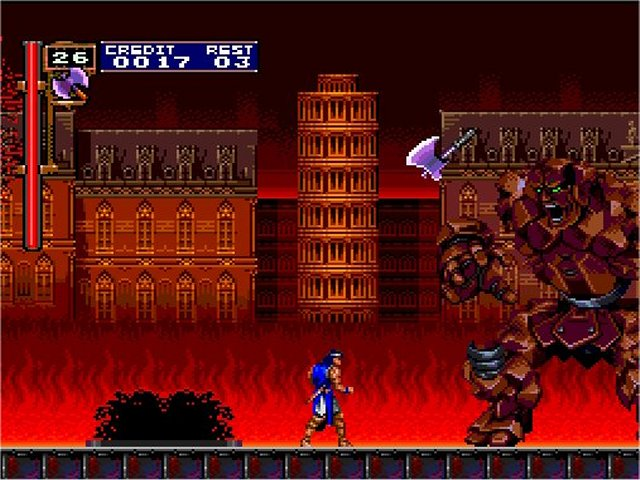 une photo d'écran de Castlevania - Rondo of Blood sur Nec PC Engine