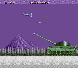 une photo d'écran de P-47 The Freedom Fighter sur Nec PC Engine