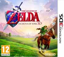 Photo de la boite de The Legend of Zelda - Ocarina of Time 3D