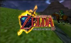 The Legend of Zelda - Ocarina of Time 3D, capture décran